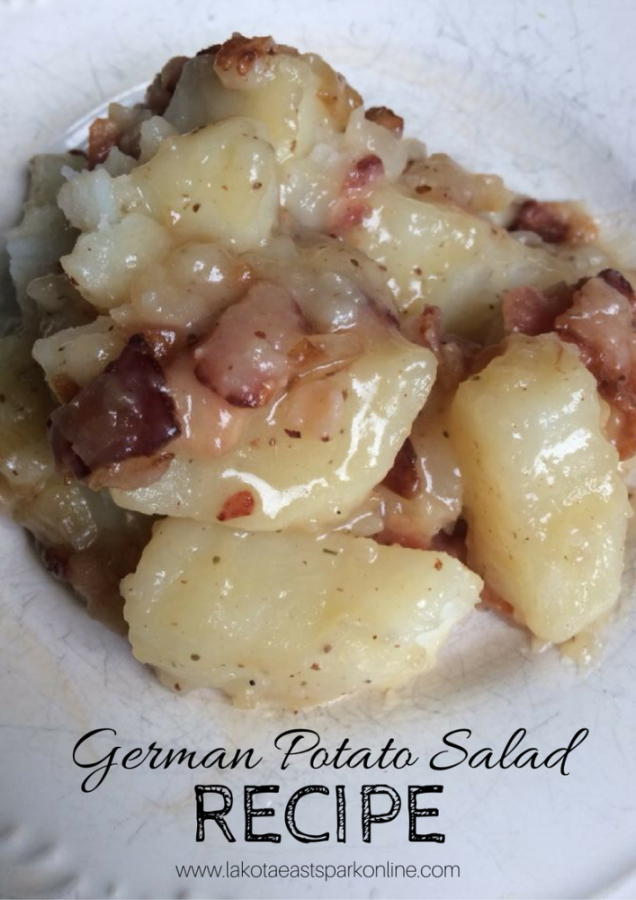 Lakota East Spark Online Newsmagazine Newspaper German Potato Salad Recipe