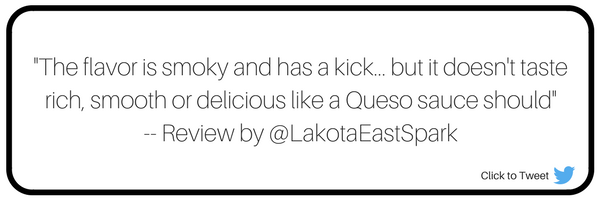 Chipotle Queso Review by Leah Boehner on Lakota East Spark Cincinnati Ohio Staff Online Culture
