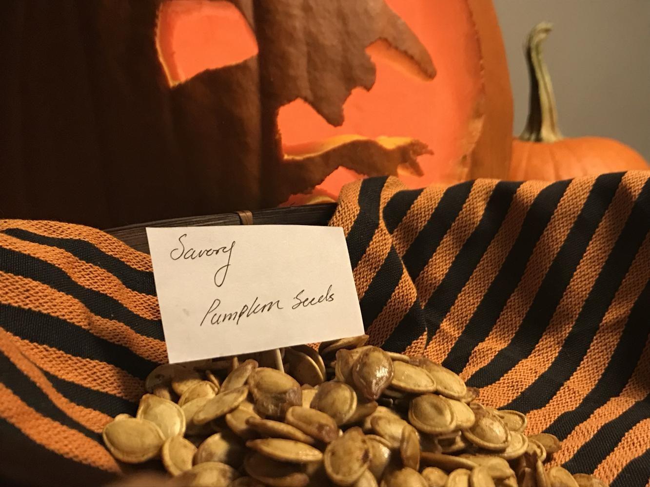 Lakota East Spark Online Recipes Halloween by Jessica Jones Savory Pumpkin Seeds Recipes Newsmagazine