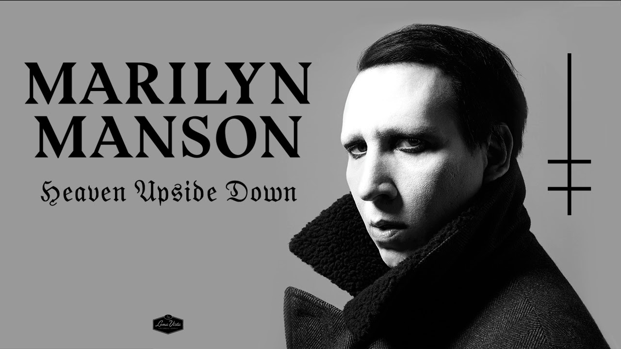Heaven Upside Down by Marilyn Manson (Brian Warner) Album Music Review by Bryce Forren on Lakota East Spark Cincinnati Ohio Staff Online Culture