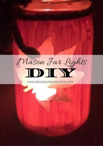 DIY Seasonal Mason Jar Lights Lakota East Spark Online Craft and Photography by Gabbie Behrmann