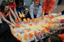 Protest Lakota East High School Lakota East Spark Newsmagazine Online Story by Katey Kruback, Interviews by Broc Nordmark, Leah Boehner, Amy Bohorfoush | Photos by Meredith Niemann, Kara Harris, Lucy Hartmann, Susanna Merli, Caroline Bumgarner School Walk-out walk-in protest guns school shooting