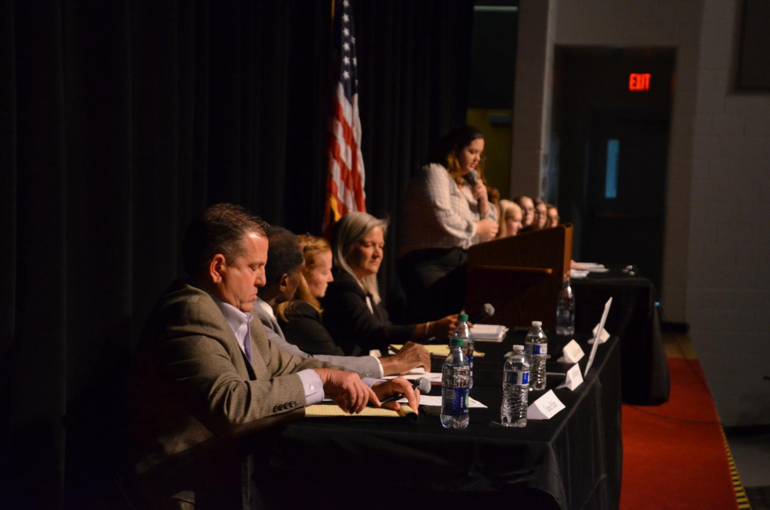 school board, lakota school board, lakota spark, lakota east, candidate night, dean hume, riley higgins, andrew marshall, anna mullins