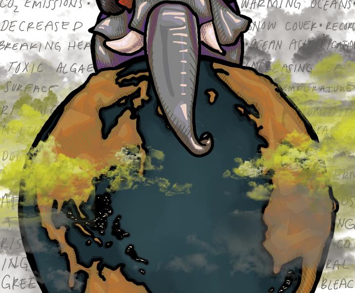 alexandra fernholz, editorial cartoon, climate cartoon, climate, lakota, lakota east spark, spark, dean hume, climate change cartoon