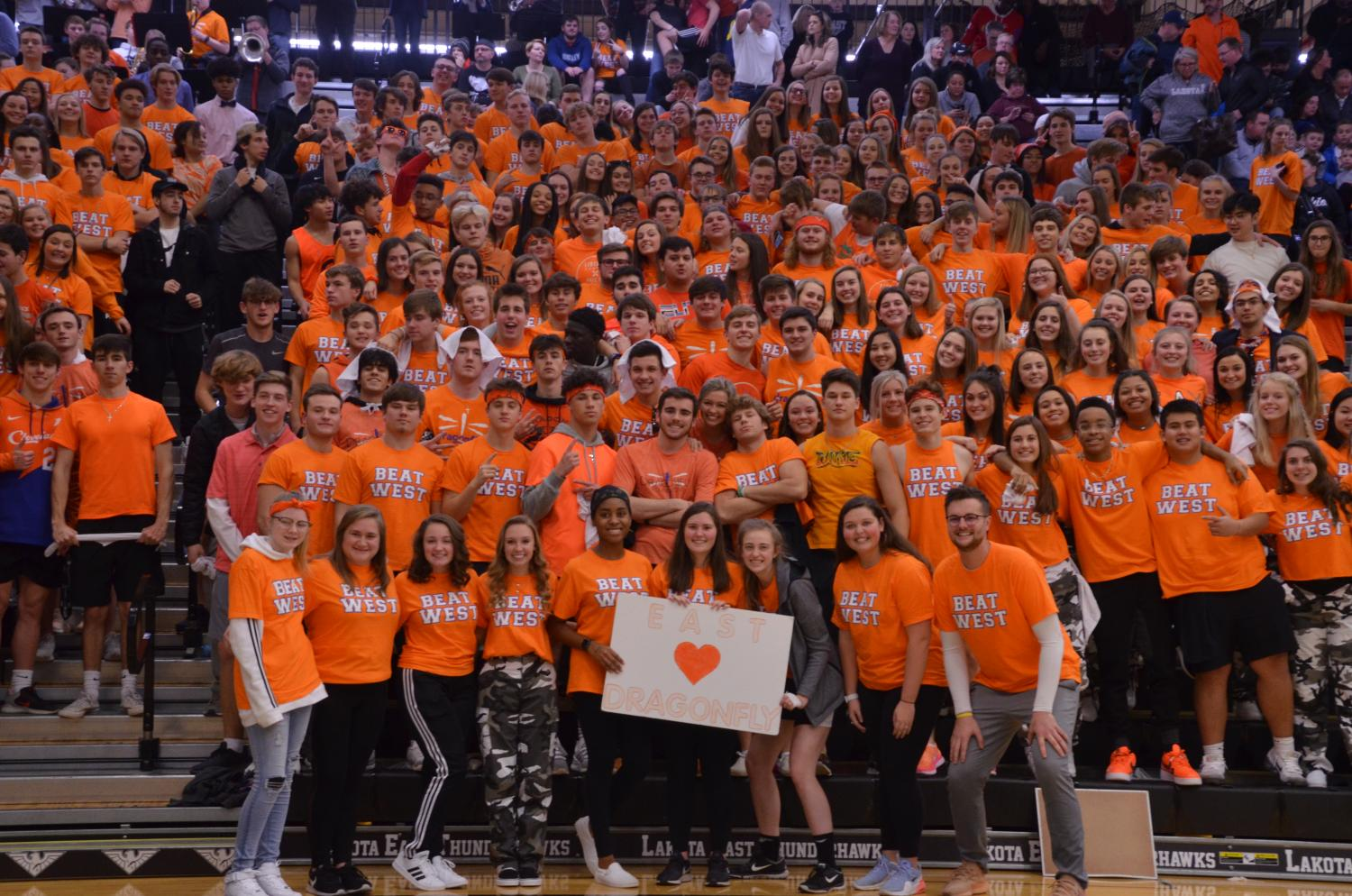 dragonfly foundation, orange out, orange, lakota, lakota east, lakota east dragonfly foundation, hannah fuller, riley higgins, dean hume