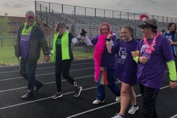 hannah fuller, dean hume, lakota east spark, lakota east relay, relay for life, relay for life 2020, relay, american cancer society, lakota east high school, kennedy chenault